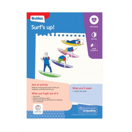 Unit meeting activity cards 7 - Guides
