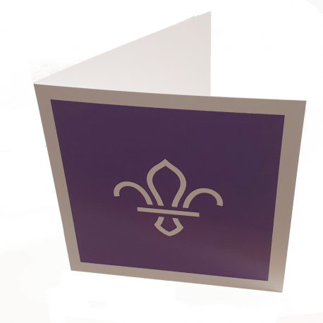 Scouting Thank You Card