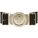 Leather Belt With Buckle XL - XXL