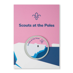 Scouts at the Poles Fun Badge and Commemorative Card