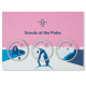 Scouts at the Poles Badge Set and Commemorative Card