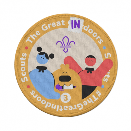 Great Indoors 3 Occasional Badge