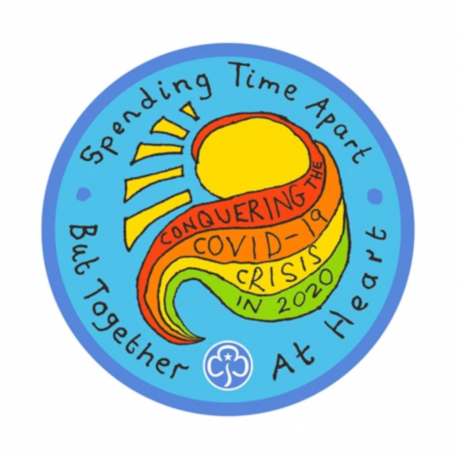Together At Heart Covid-19 Badge