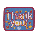 Thank You Woven Badge