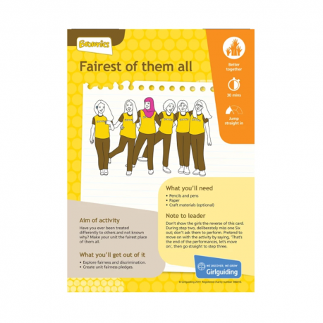 Unit meeting activity cards 8 - Brownies