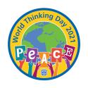 World Thinking Day 2021 woven badge