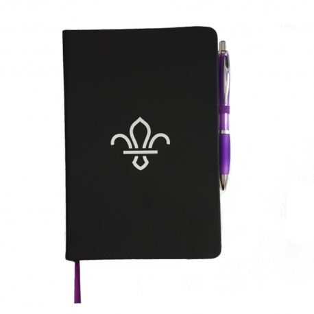 Black FDL Notepad and Pen