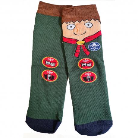 Cub Oddie Socks (size 1-4)
