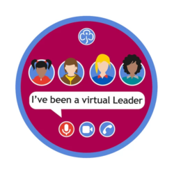 I've been a virtual Leader Badge