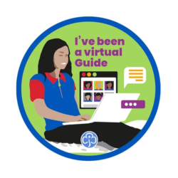 I've been a virtual Guide Badge