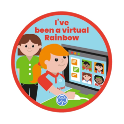 I've been a virtual Rainbow Badge