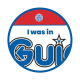 I was in Guides woven badge 2021