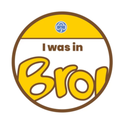 I was in Brownies woven badge 2021