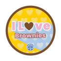 I love Brownies woven badge 2021