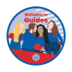 Welcome to Guides woven badge 2021