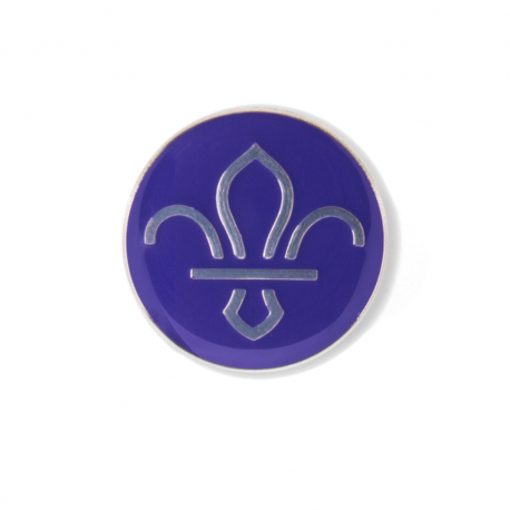Fleur de Lis Scouts Pin Badge