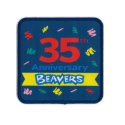 Beaver Scouts 35th Anniversary Fun Badge