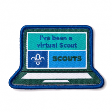 I've Been a Virtual Scout Fun Badge