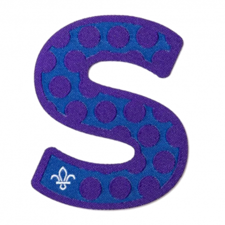 Letter S for Scouts Fun Badge