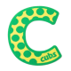 Letter C for Cubs Fun Badge