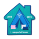 'I Camped at Home 2020-2021' Scouting Fun Badge