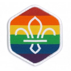 Pride In Scouting Woven badge