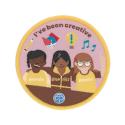 Brownies I've been creative woven badge