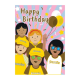 Brownies Happy Birthday cards (6 pack)
