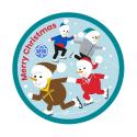 GGUK Merry Christmas Woven Badge