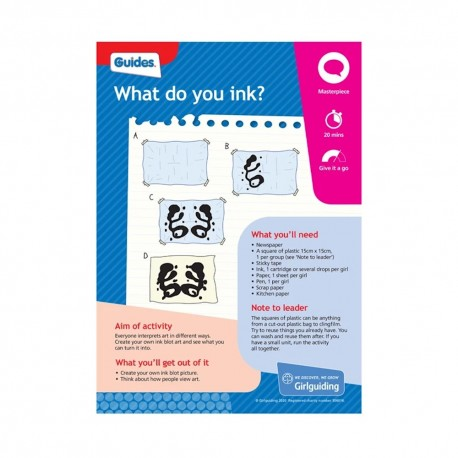 Unit Meeting Activity Cards 10 - Guides