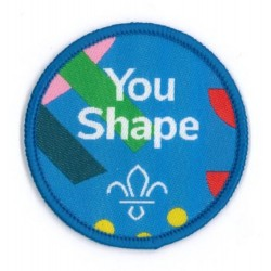 You Shape Beaver Scout Central Badge