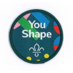 You Shape Scout Central Badge