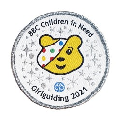 GGUK BBC Children in Need 2021 Woven Badge - AVAILABLE SOON
