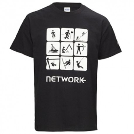 Network Section T-Shirt Adult