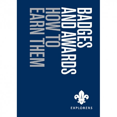 Explorers Badges and Awards Book