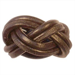 Gilwell Park Dark Tan Woggle - AVAILABLE SOON