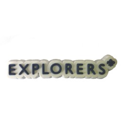 Explorers 3D Logo PVC Fridge Magnet
