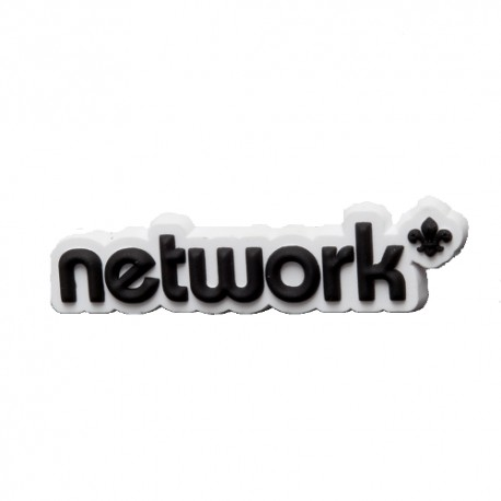 Network 3D Logo PVC Fridge Magnet