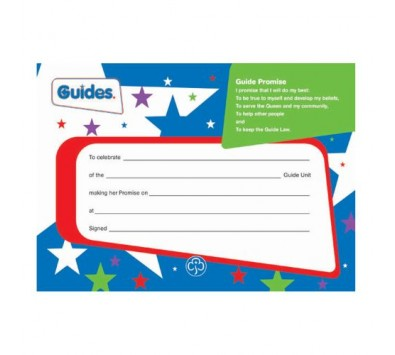 Guide Leaders Books & Certificates
