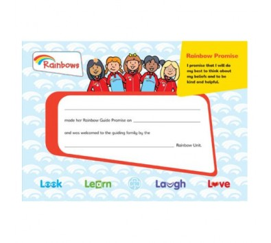 Rainbow Leaders Books & Certificates