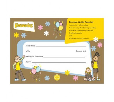 Brownie Leaders Books & Certificates