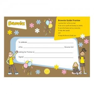 Brownie Leaders Books & Certificates