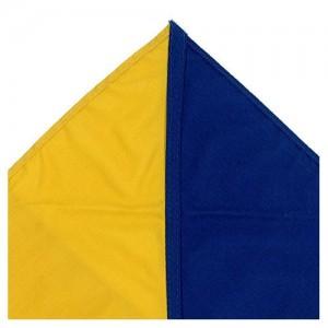 Diagonal Half and Half  Two Colours