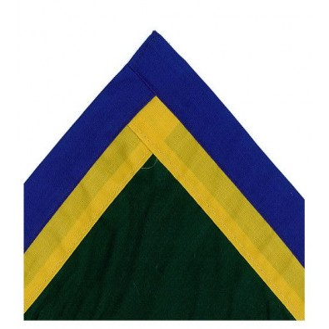 Single Colour with Double Trim Border